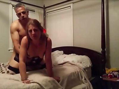 Blonde wifey on real homemade