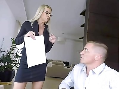 Seduced By Horny Mummy Tutor