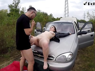 Fucked the girl, gave him a fuck and finished 2 times. (cunnilingus, cock sucking, public)