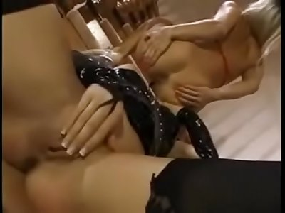 Sapphic submission: lezzie starlet summit to her mistress. Sapphic sex, vagina and finger-tickling subordination