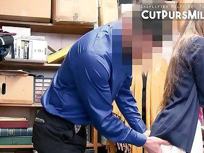 Mom And Daughter Caught Stealing And FUCKED HARD