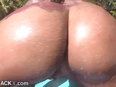 AllBlackX - Very first Time Ass fucking For Thick, Dirty dancing Booty