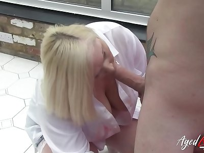 AgedLovE Mature Lacey Starr Xxx with Luke Hotrod