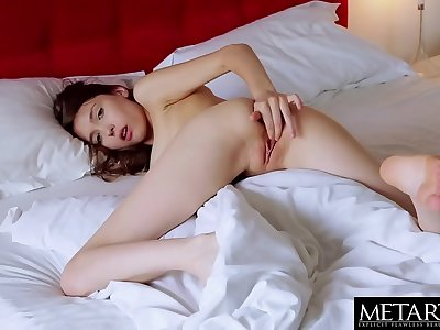See her big breasts bounce as she masturbates to a wild orgasm