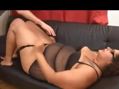 Lalita hot french bbw fucked by a black dude and white dude