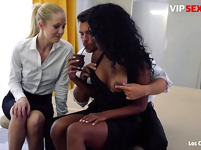 LOS CONSOLADORES - #Noe Milk #Sicilia Model - Hot Intense Group Hook-up With A Sexy Black Teenager