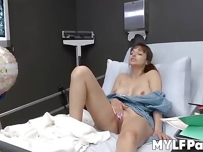 Big tits dickblowers Lexi Luna solo cunt play and jerking off