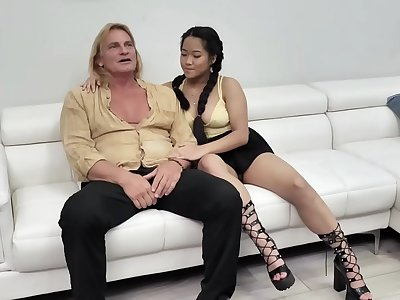 Step uncle pummels Alona Blooms extra taut beaver