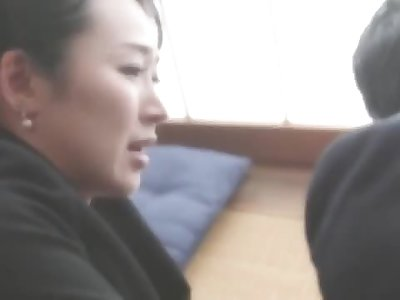 Son confesses his love to his stepmother when his dad passed away