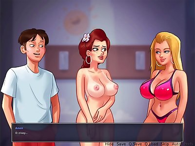 Summertime Saga - Having Lovemaking with the Most Popular Woman in School