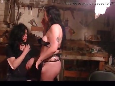 Compilation- White Gardenia Female dom Sissification and Restrain bondage (Corrected Version) Sissy-slave Coerced to Munch Woman's Armpits and Butt Crossdress Servant Whore S&M Domination & submission Cigarette fetish sub training eating cunt eat