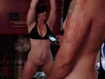 sister gets tied up and fucked by fuck-stick
