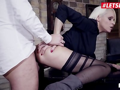 LETSDOEIT - #Sophie Logan - Sexy German Mummy Gets The Hard-on Of Her Manager For A Promotion