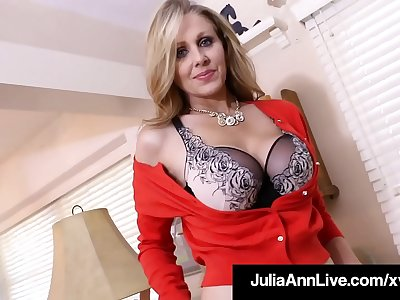 Jizz Spread With Mummy Julia Ann As She Bangs Her Mature Muff