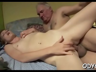 Wild redhead bombshell Maggies cums from fat phallus