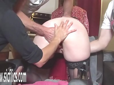 Group Bang Knuckle Fucked Unexperienced Wifey