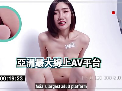 SWAG the largest online AV platform in Asia, is about to issue coins! The director has been dissatisfied, so he came to fuck me directly!