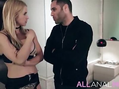 When hot blonde Mummy Sarah Vandella gets caught cheating by her stepson, a tense confrontation ensues. - Utter SCENE on http://ALLAnalMOM.com