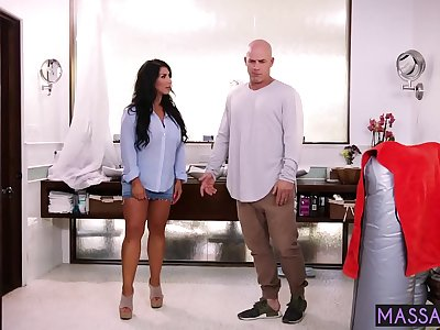 Client desired D/s and he fucked so hard mature with amazing thick knockers Raven Hart