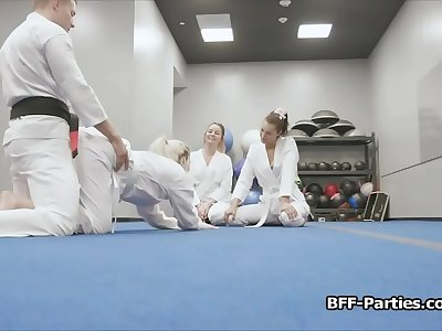 Self defense training turns to private 4 way