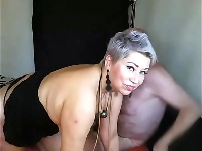 What a wise lady this Mature Russian bitch is! Mummy spreading, mature wide open pussy, doggystyle, cunt spanking, sucking cock.... Russian mature beauty and the best whore in the world AimeeParadise!