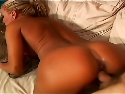 American dude attempts to prove nasty sunburnt fairhaired Mummy with big tits from Brazil Sofia Sandobar that he is so horny as her countrymen could be