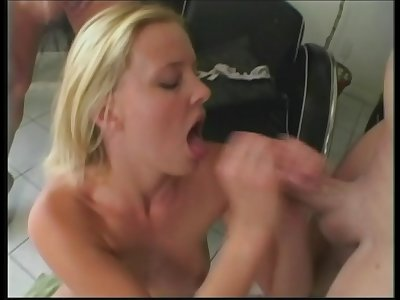 Blonde Teenage Oral pleasure And Fucked Anal, Discuss the name of this pornography actress