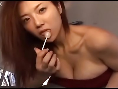 Sexy big-titted japanese