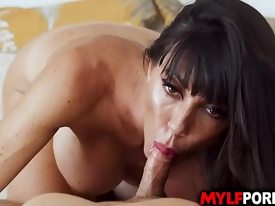 Gorgeous Sofia Starlet is treated like the queen after a hot voluptuous fuck rubdown with Andy Stone.