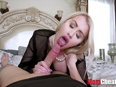 Sleeping Mom Gets A Bones Call from Son- Katie Monroe
