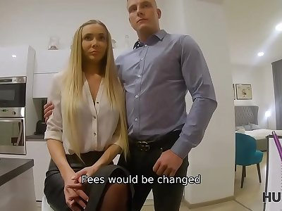 HUNT4K. Sexy blue-eyed chick is interested in lovemaking with rich client