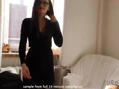 Observe HER STORY behind the scenes compilation of Laura
